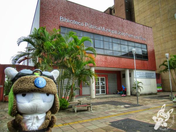 Biblioteca Pública Municipal João Palma da Silva | Canoas - Rio Grande do Sul - Brasil | FredLee Na Estrada