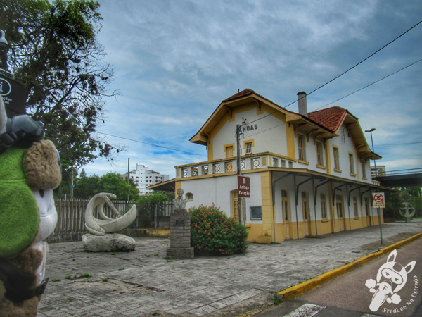 Antiga Estação de Trem | Canoas - Rio Grande do Sul - Brasil | FredLee Na Estrada