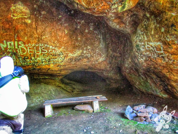 Caverna - Parque da Cascata | Ipira - Santa Catarina - Brasil | FredLee Na Estrada