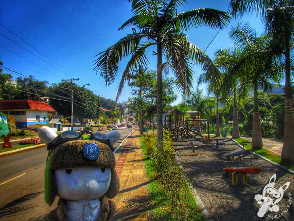 Praça do Ferroviário | Piratuba - Santa Catarina - Brasil | FredLee Na Estrada