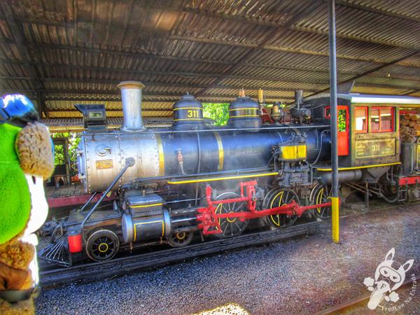 Locomotiva 3111 - Estação Ferroviária | Piratuba - Santa Catarina - Brasil | FredLee Na Estrada