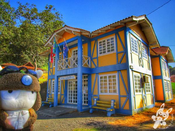 Casa Colonial | Piratuba - Santa Catarina - Brasil | FredLee Na Estrada