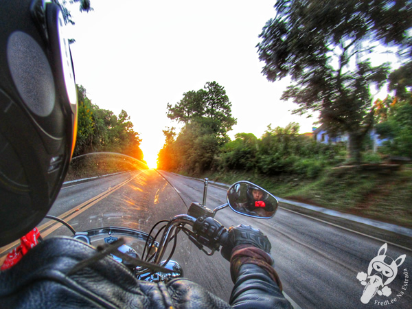 Pôr do Sol | Rodovia Transbrasiliana - Rodovia BR-153 | FredLee Na Estrada