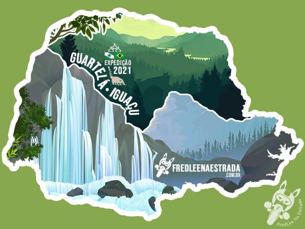 Expedição 2021: Guartelá - Iguaçu | FredLee Na Estrada