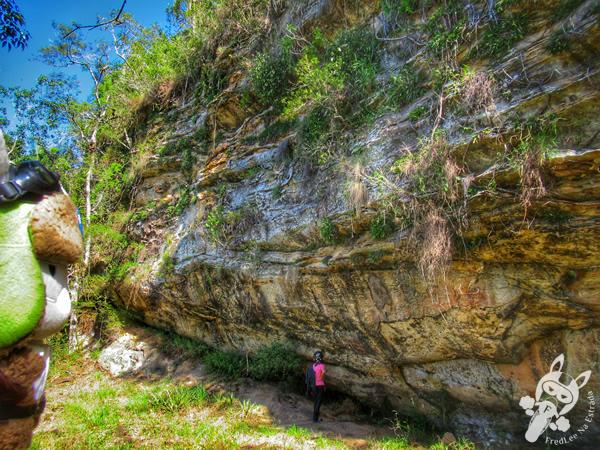 Sítio Arqueológico Abrigo Cerradinho Santa Rosa | Parque Salto Santa Rosa - Barreiro | Tibagi - Paraná - Brasil | FredLee Na Estrada