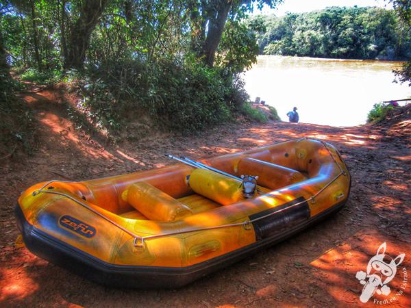 Rafting no Rio Tibagi | Tibagi - Paraná - Brasil | FredLee Na Estrada