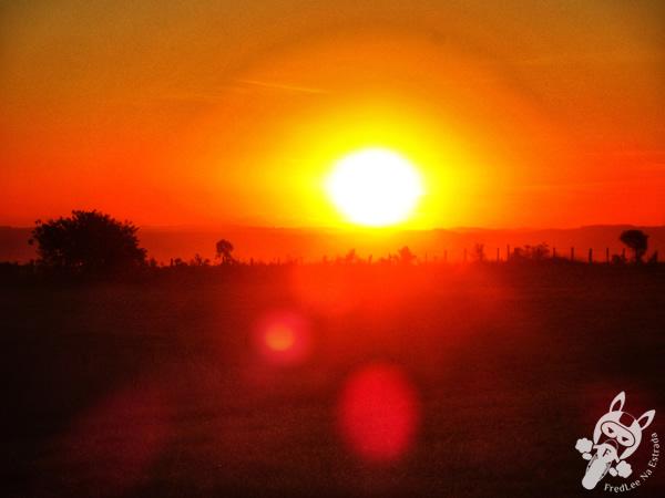 Pôr do Sol - Fazenda São Damásio | Tibagi - Paraná - Brasil | FredLee Na Estrada