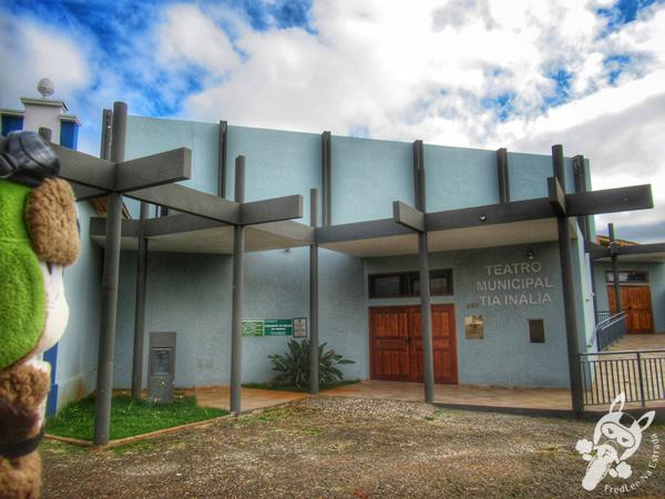 Teatro Municipal Tia Inália | Tibagi - Paraná - Brasil | FredLee Na Estrada