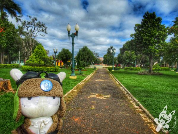Praça Leopoldo Mercer | Tibagi - Paraná - Brasil | FredLee Na Estrada