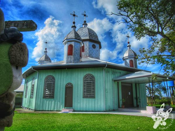 Igreja Transfiguração do Senhor Jesus Cristo | Prudentópolis - Paraná - Brasil | FredLee Na Estrada