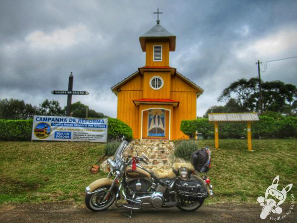 Capela Nossa Senhora das Graças - Estrada Guaicará | Guarapuava - Paraná - Brasil | FredLee Na Estrada