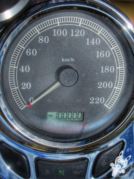 Hodômetro da Formosa - 100.000 km | Grande Estrada - Rodovia BR-277 | FredLee Na Estrada