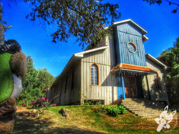 Igreja Nossa Senhora de Fátima - Parque Ecológico Paulo Gorski   Cascavel - Paraná - Brasil   FredLee Na Estrada