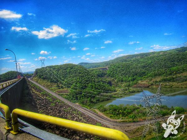 Usina Hidrelétrica Machadinho - Carlos Ermírio de Moraes (UHE Machadinho)   FredLee Na Estrada