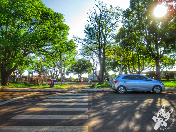 Praça João Goulart   Machadinho - Rio Grande do Sul - Brasil   FredLee Na Estrada