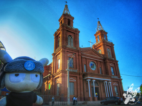 Igreja Nossa Senhora do Rosário   Machadinho - Rio Grande do Sul - Brasil   FredLee Na Estrada